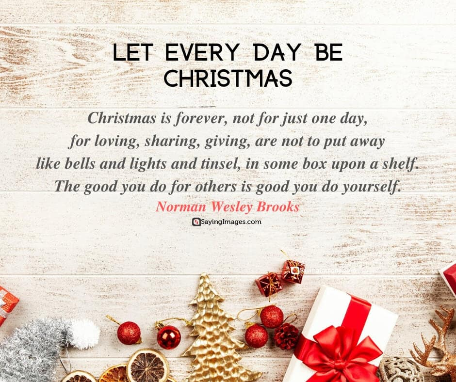 short christmas poems let everyday be christmas