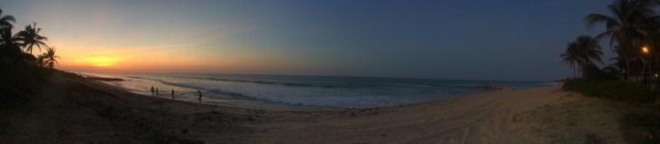 The most amazing sunset