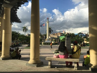 Plaza Marte, one of the popular wifi spots