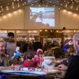 Big Screens at Blue Cross RiverRink Winterfest