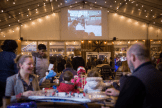 Big Screens at Blue Cross RiverRink Winterfest