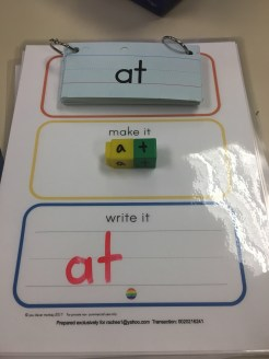 Make it Monday: Words at Play Literacy Station