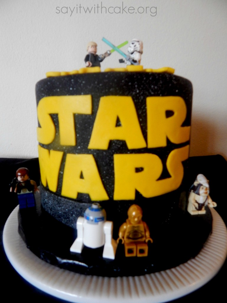May The 4th Be With You Star Wars Cake Say It With Cake