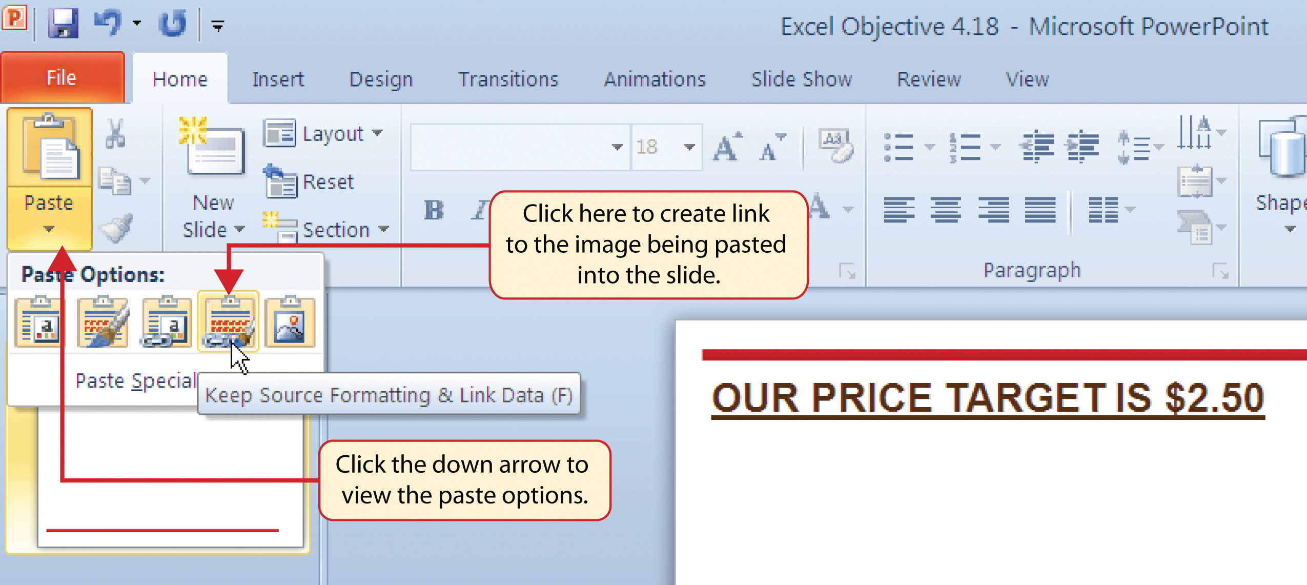 Using Charts With Microsoft Word And Microsoft Powerpoint