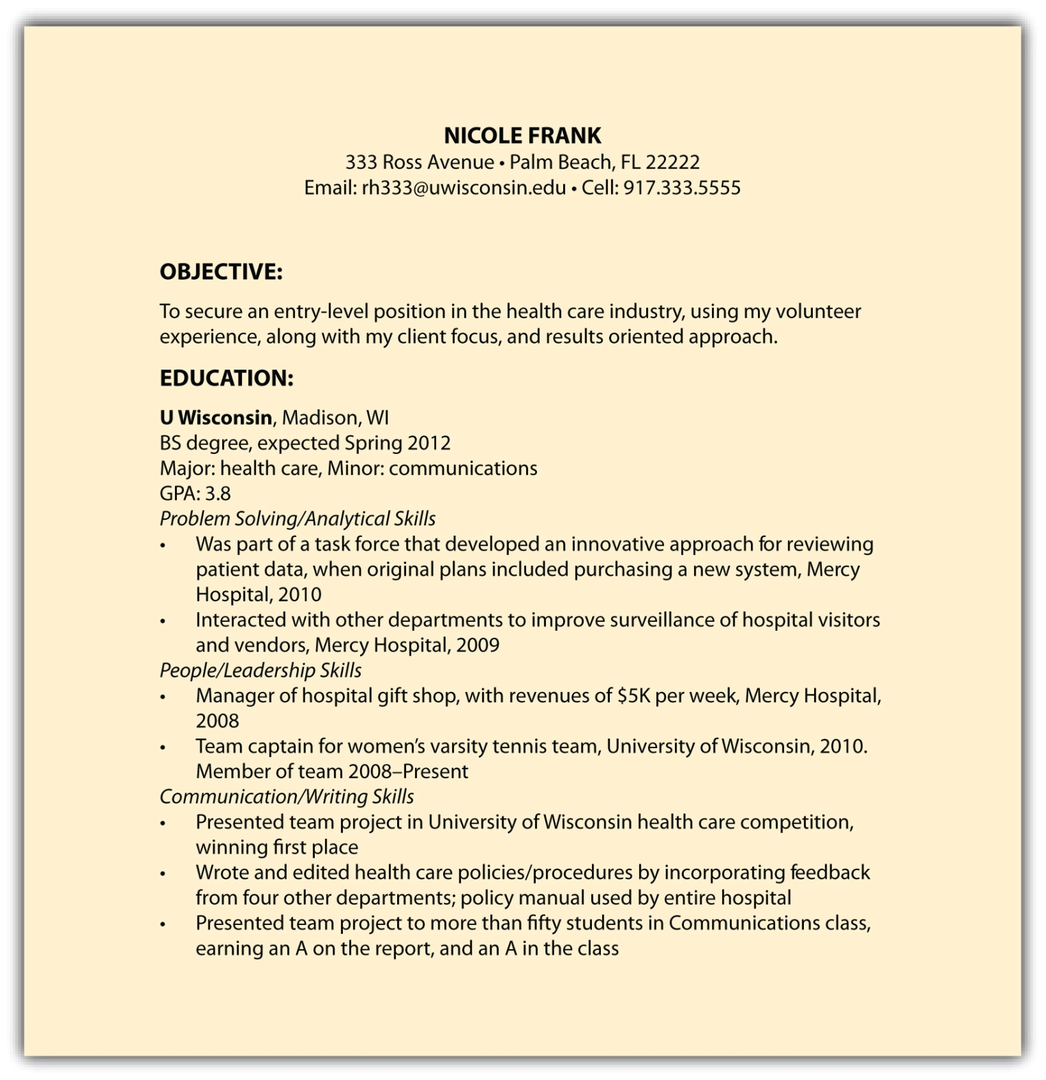 examples of a functional resume resume examples functional resume