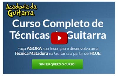 Curso Completo de Técnicas de Guitarra - Daniel