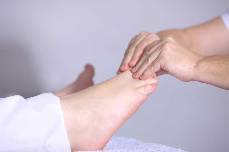 Masaje especifico de pies