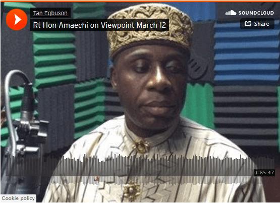 rotimi amaechi radio interview