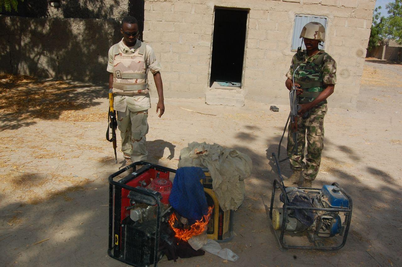 TROOPS ARREST BOKO HARAM TERRORISTS LOGISTICS ELEMENTS