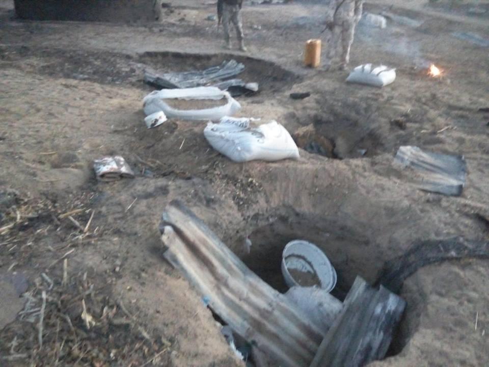 TROOPS CLEAR BOKO HARAM TERRORISTS OUT OF BIGGORO AND WARPAYA