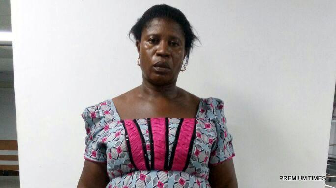 nigeria cocaine woman