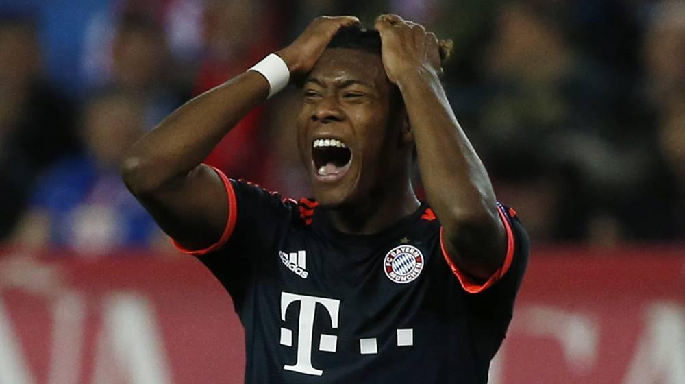 Bayern reject Madrid offer for Alaba