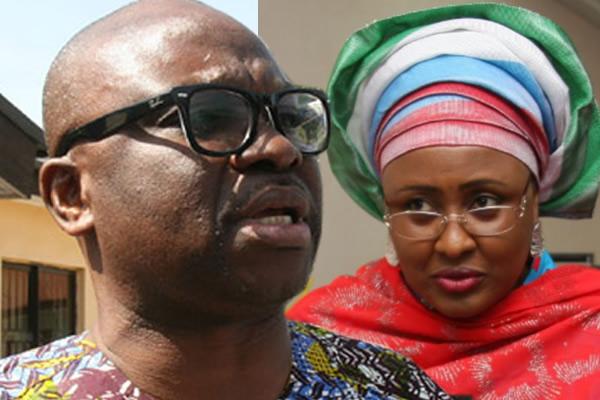 President Buhari's wife sues Gov. Fayose