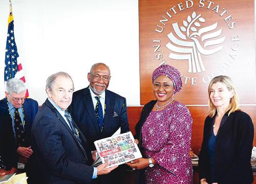 Buhari's wife accepts Fayose's challenge, visits US