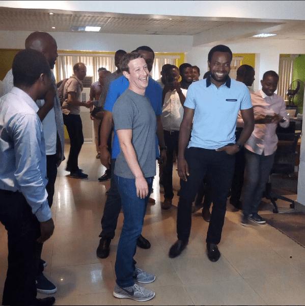 Facebook's Founder, Mark Zuckerberg is Currently in Nigeria
