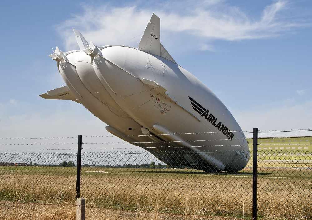 World's largest aircraft crash lands during its second test flight