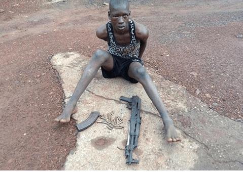 Enugu Police Apprehend Herdsman with an AK47 Rifle and Ammunition