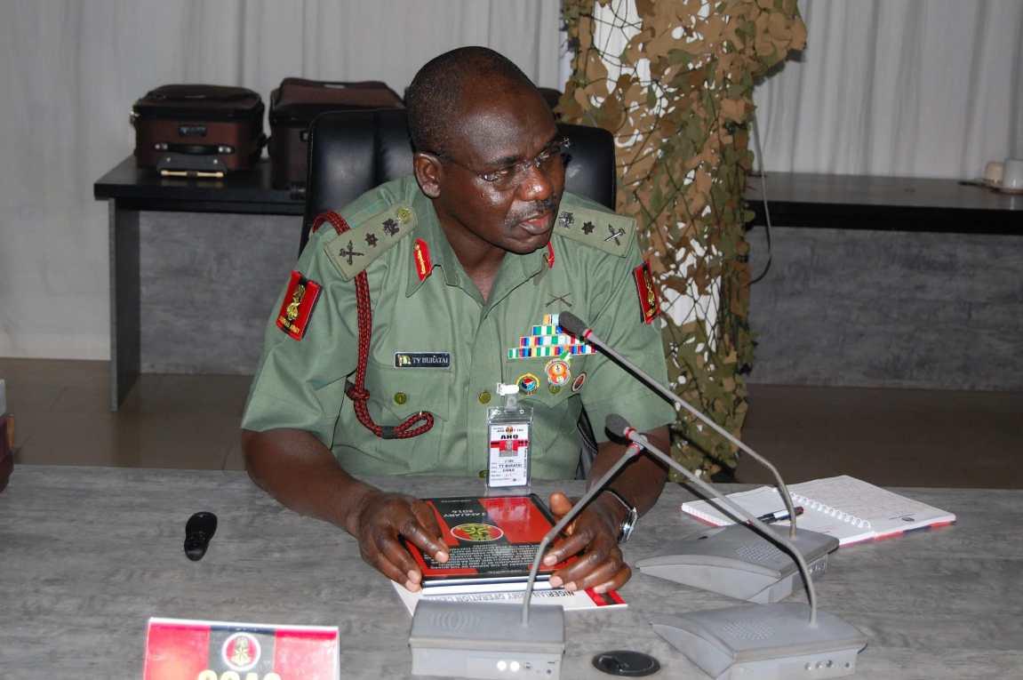 Army chief inaugurates 331 artillery HQ in Buratai