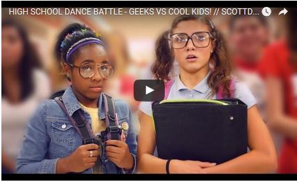 VIDEO: High School Dance Battle