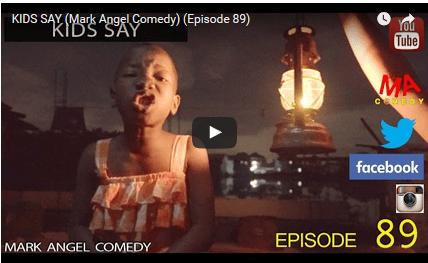 COMEDY: Mark Angel Comedy - Kids Say