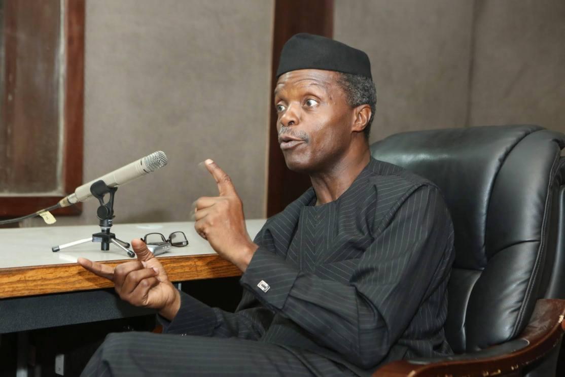 All Institutions of Government are Corrupt' – VP Osinbajo
