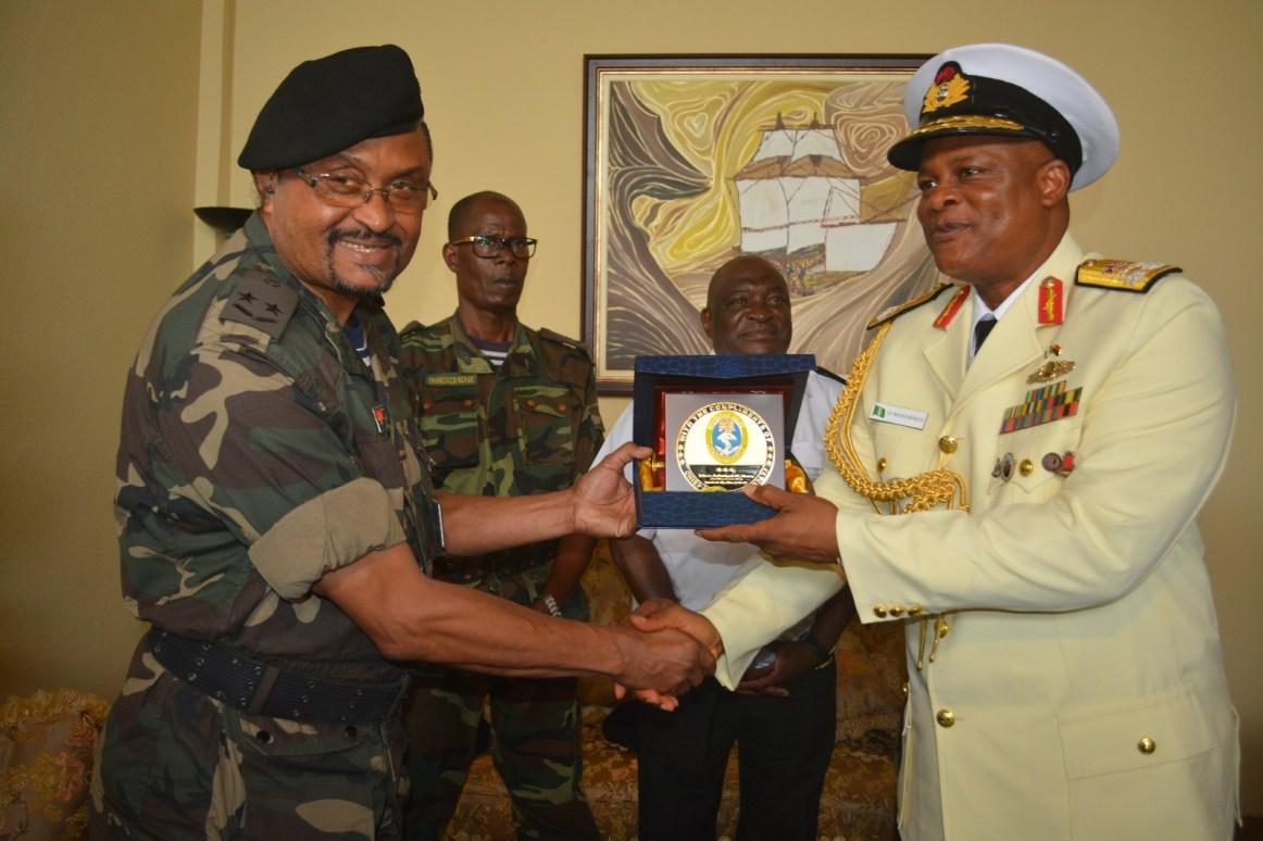 Homeward Voyage Of Nigerian Navy Ship