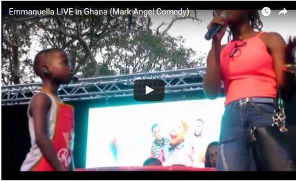 COMEDY: Emmanuella Live In Ghana