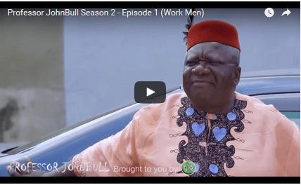 COMEDY: Professor JohnBull - Work Men