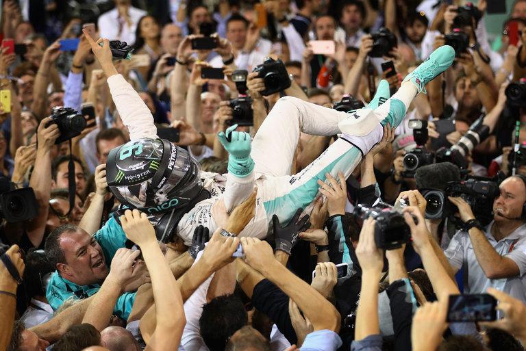 Rosberg wins Formula 1 title Despite Hamilton's win in Abu Dhabi