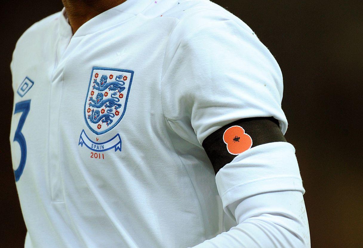 England and Scotland Face FIFA Ban Over Poppy Armbands