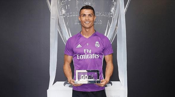 Ronaldo Beats Messi to the 2016 Goal 50 Award
