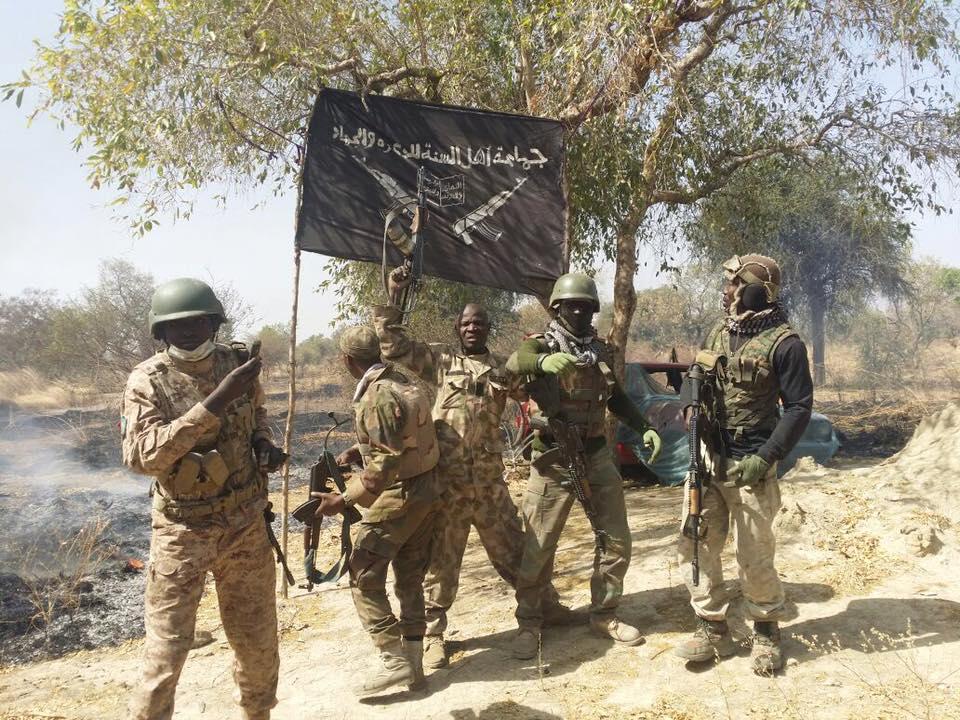 Nigerian Army Hosts Flag At Boko Haram Headquarters