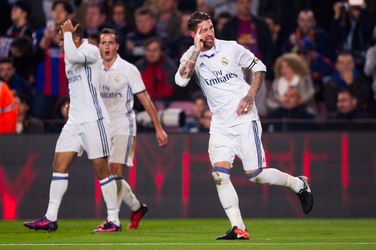 Sergio Ramos Strike Sets Real Madrid On New Record