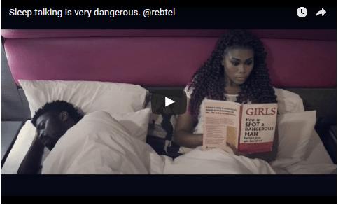 COMEDY: Sleep Talking Is Very Dangerous
