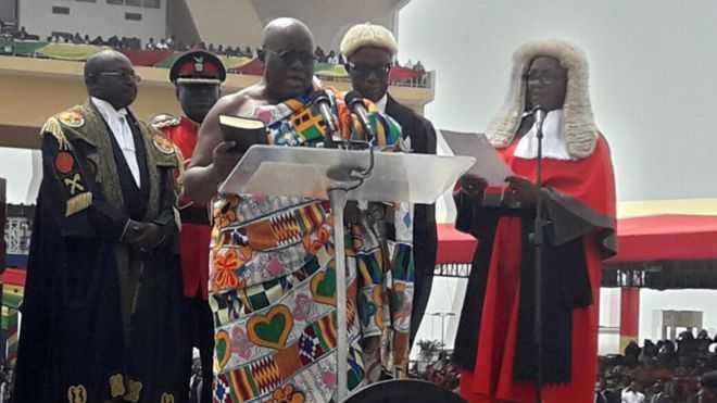 Ghana's President Akufo-Addo Plagiarises Bush and Clinton Speeches (Watch)