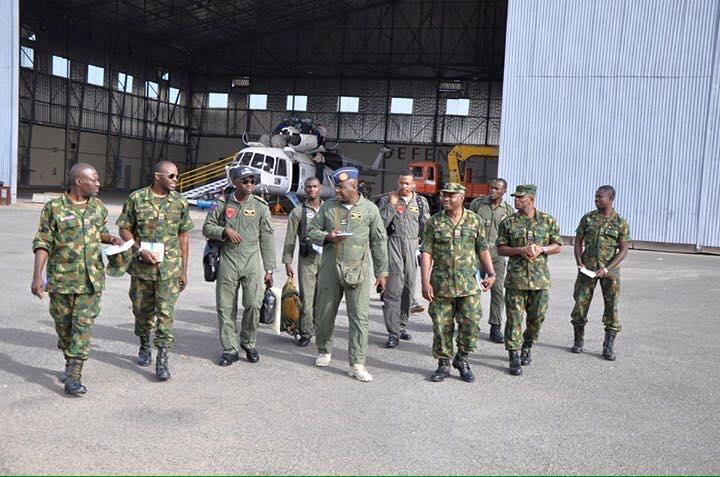 PHOTOS: NAF Contingent Arrives Dakar, Senegal