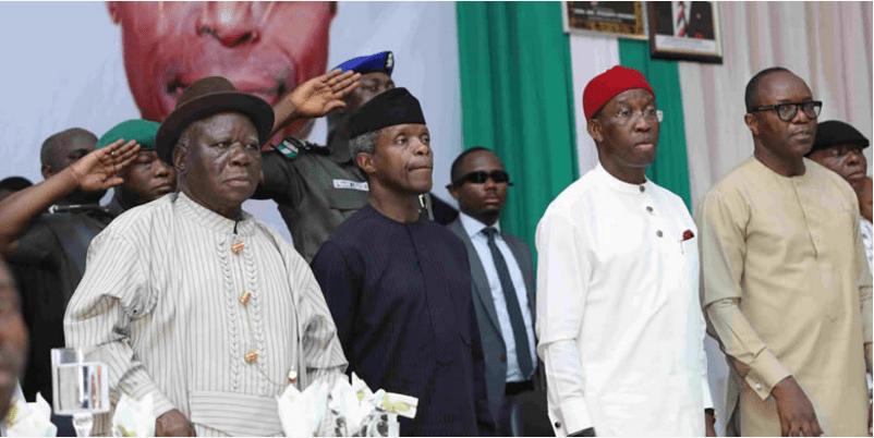 We Must Prepare For The Future - VP Osibanjo Tells Niger Delta