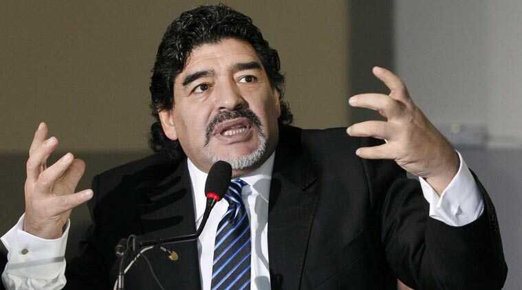 FIFA Appoints Diego Maradona Global Ambassador