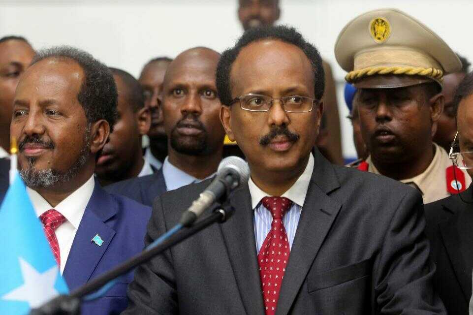 Ag. President Osibanjo Congratulates New President Of Somalia