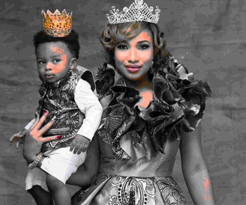 Tonto Dikeh Celebrates Her Son's Birthday With Adorable Photos