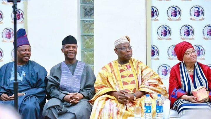 Olusegun Obasanjo @80 Launches Presidential Library