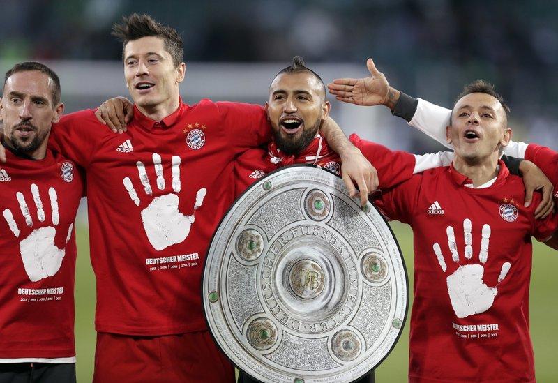 Bayern Munich in Cloud Nine After 27th Bundesliga Crown