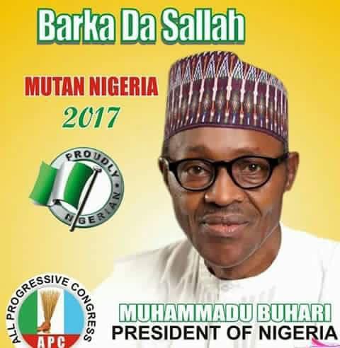 President Muhammadu Buhari Sends 2017 Eid-El-Fitr Greetings
