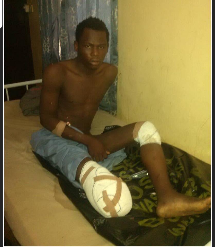 Nigerian Army Rescue Injured Boko Haram Terrorist