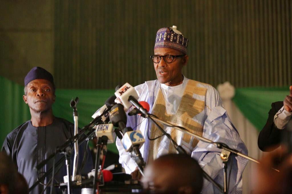Image result for muhammadu buhari today speech