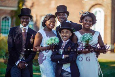Funke Akindele Shares First Photos of Secret Wedding to JJC Skillz on their Anniversary