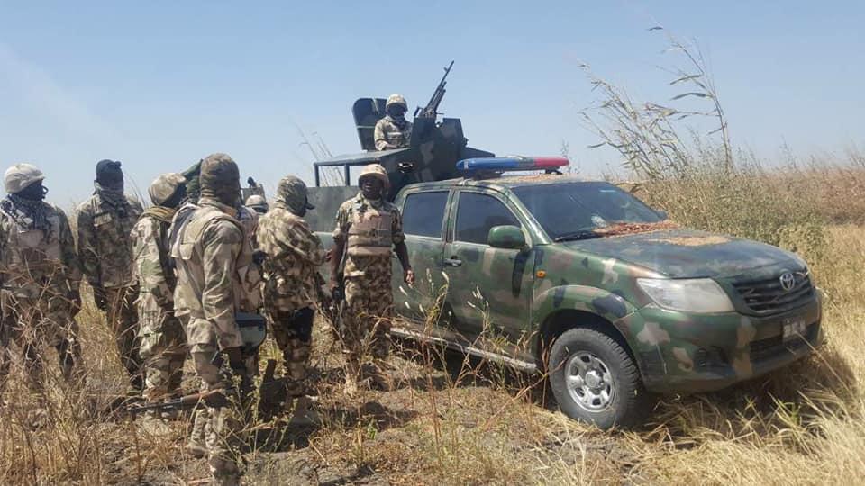 Nigerian Army Of Operation Sharan Daji Neutralise Bandits, Free Captives