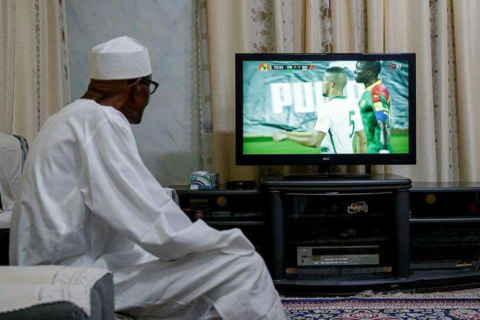 President Buhari Congratulates Super Eagles Over Chipolopolo
