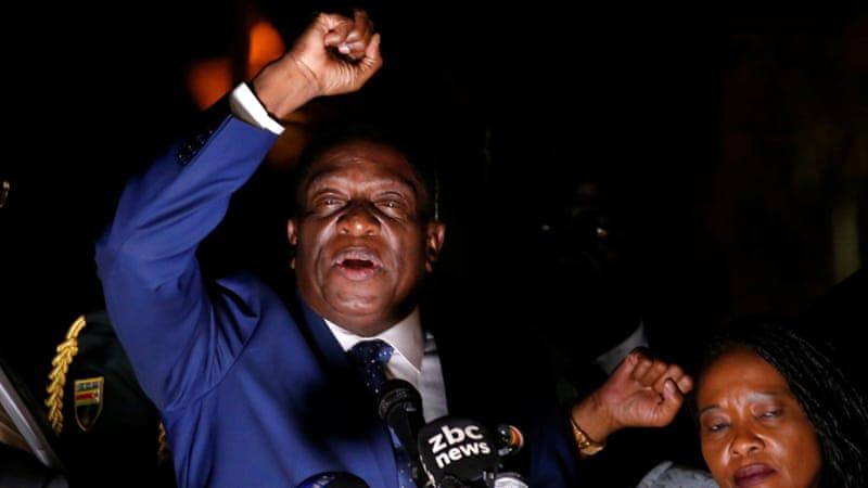 Mnangagwa To Be Sworn In As Zimbabwe's President