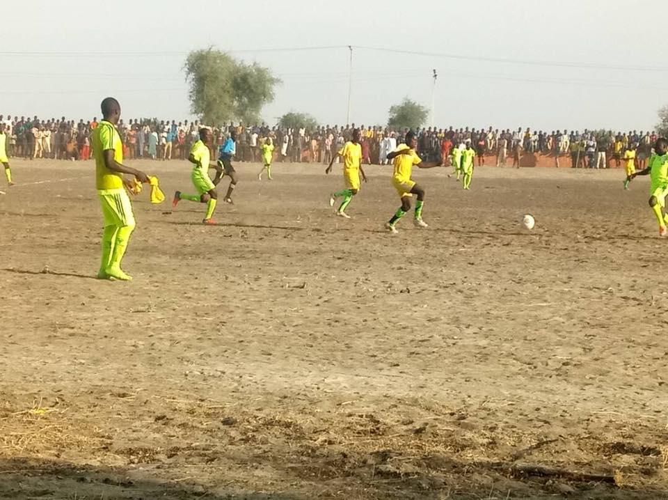 Thousands Throng Monguno To Watch Buratai Football Tournament